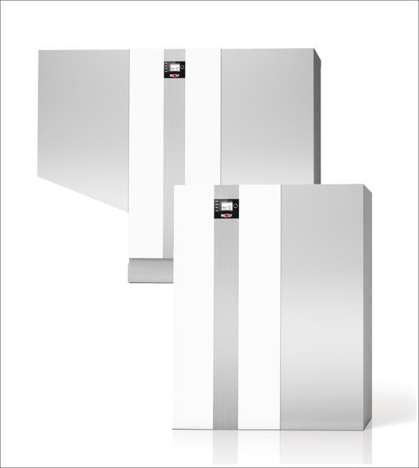 Prestijli Projeler İçin Premiks Kazanlar <p> 126 - 1000 kW kapasite ve %17-100 modülasyon aralığında 11 farklı model. <p> Eş yaşlandırmalı kaskad kontrol sistemi ile 5 kazanla 5 mW'a ulaşan kapasite <p> MGK-2 390-630 kazanları EN 13836, EN 15420 ve EN 15417; MGK-2 130-300, MGK-2 800-1000 kazanları EN 15502 ve tüm modeller güncel AB yönetmeliklerine göre test edilmiştir <p> EN 12828 ısıtma sistemleri için uygundur <p> Hem hermetik, hem de açık tip baca uygulaması ile çalışmada %17 ile %100 modülasyon aralığında fısıltı sessizliğinde yanma... <p> A-M görüntüleme modülü ve BM-2 programlama modülü birlikte çalıştırılabilir. <p> Entegre kontrol ünitesi ile harici sirkülasyon pompasının ΔT kontrolü. Böylece kazanın yoğuşma etkisinden optimum fayda ve kazan devre pompası enerji tüketiminin minimize edilmesi. <p> Isı eşanjörü kalitesi kanıtlanmış alüminyum – silisyum alaşımdan imal edilmiş, tam izolasyon sağlanmıştır.  <p> 5 adete kadar gaz yakıtlı yoğuşmalı kazanın kaskad kontrolü 5 mW değerine ulaşan çıkış kapasitesi sağlar. <p> Dönüş sıcaklığının arttırılmasına veya minimum su sirkülasyonuna ihtiyaç yoktur. <p> Çok temiz yanma, mümkün olan en verimli şekilde enerji kullanımı için %110 Hi(üst ısıl değer) / % 99 Hs(alt ısıl değer) değerine varan yüksek standartta verimlilik. <p> Taşıma kolaylığı sağlamak amacıyla palet taşıyıcılar ve forkliftler için arka tarafta boşluklar bulunmaktadır. <p> En dar alanlarda bile kolaylıkla taşınabilmesi için, cihaz, ısı ejanjörü ve gaz-hava sistemi olarak ikiye ayrılabilir (MGK-2 390-1000 arası modellerde). <p> Sökülebilir kapak sayesinde ayarlamalar ve bakımlar için doğrudan erişim sağlanır. <p> Önceden montajı yapılmış ısı izolasyonu ve kapaklar sayesinde kurulumu kolayca ve hızla yapılır. <p> Hidrolik ve elektrik bağlantıları hazırdır. <p> Her kazan dairesine uyumlu kompakt boyutlar.
