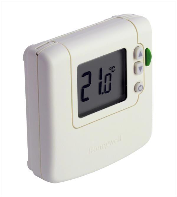 Alarko Dijital Oda Termostatları - DT90 Büyük LCD ekrana sahip kolay kullanabilir, programlanamayan dijital termostat. <P> Kazan kontrolü, zon vanalar, pompalar, elektrikli ısıtıcılar, fan-coil üniteleri ve termal tahrik ünitesi kontrol edilebilir.  kendi kendine öğrenebilen Bulanık mantık kontrolü <P> ayarlanabilir oransal bant <P> ayarlanabilir on/off zaman <P> donma koruması <P> ayar sıcaklığı limitlemesi <P> güvenli mod senaryosu <P> kurulum modu.